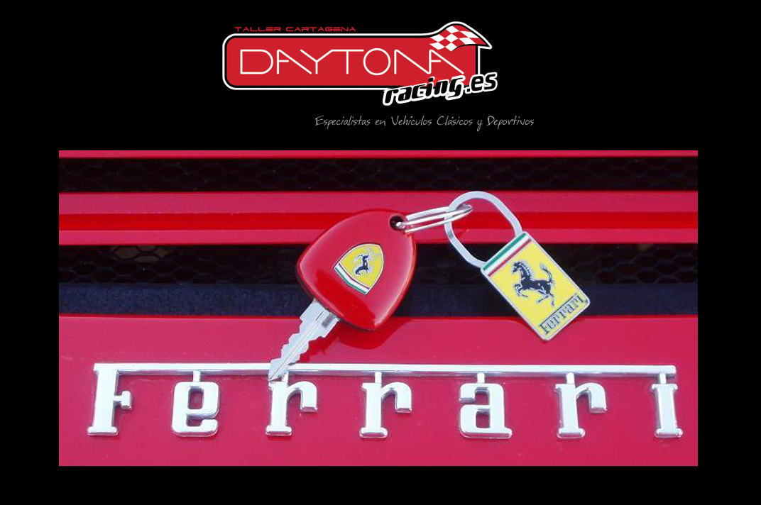 Ferrari 348 mantenimiento distribución revision embrague Cartagena Murcia