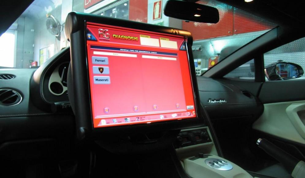 Diagnosis máquina software Ferrari Lamborghini Maserati Porsche