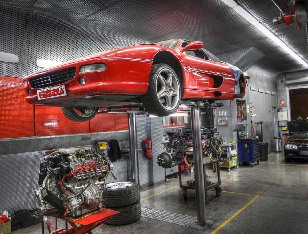 Taller Especializado Ferrari 355 Cartagena Murcia